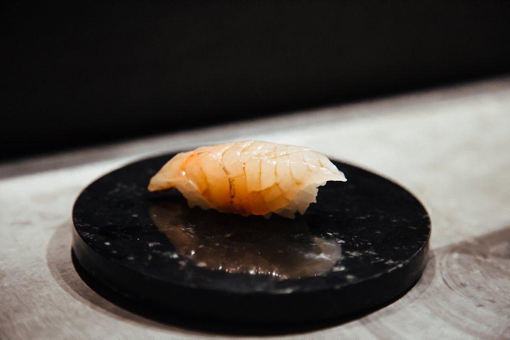 Pike perch sushi